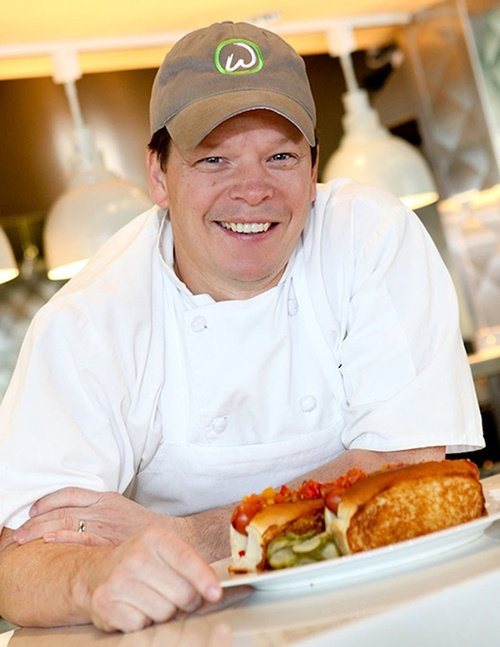 Dinner with Paul Wahlberg