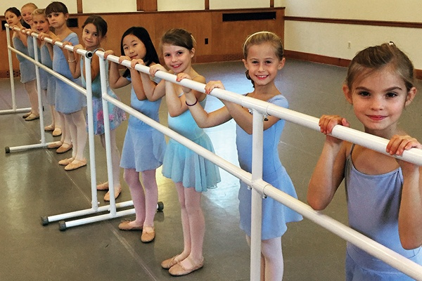 young ballet students