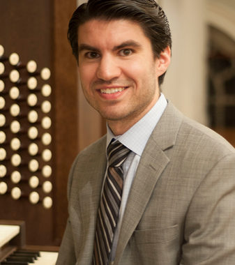 Brandon Santini, organist and pianist